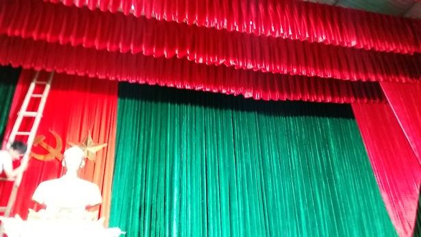 Phông rèm hội trường sân khấu  08