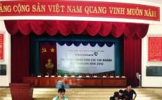 Báo giá phông rèm hội trường sân khấu giá rẻ tại Hà Nội