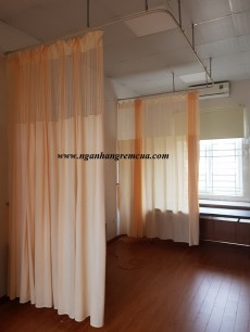 Công trình rèm vải bệnh viện lắp đặt tại Bệnh viện Đa Khoa Hà Đông