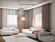 Công trình rèm vải nhà anh Bắc - Ninh Bình