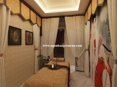 Công trình rèm vải spa lắp đặt tại Royal Spa - Mỹ Đình- Hà Nội
