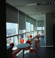 Lắp đặt rèm văn phòng tại LG Keangnam Landmark