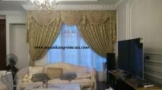 Rèm vải cao cấp lắp đặt tại Biệt Thự đắt tiền bởi Ngân Hàng Rèm Hà Nội